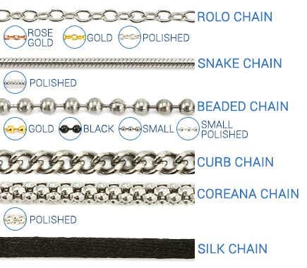 Necklace Chain Types